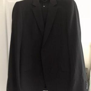 NEW Burberry Black Men's Suit Made in Portugal 48